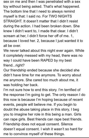 Timothy Heller rape story. Part 4