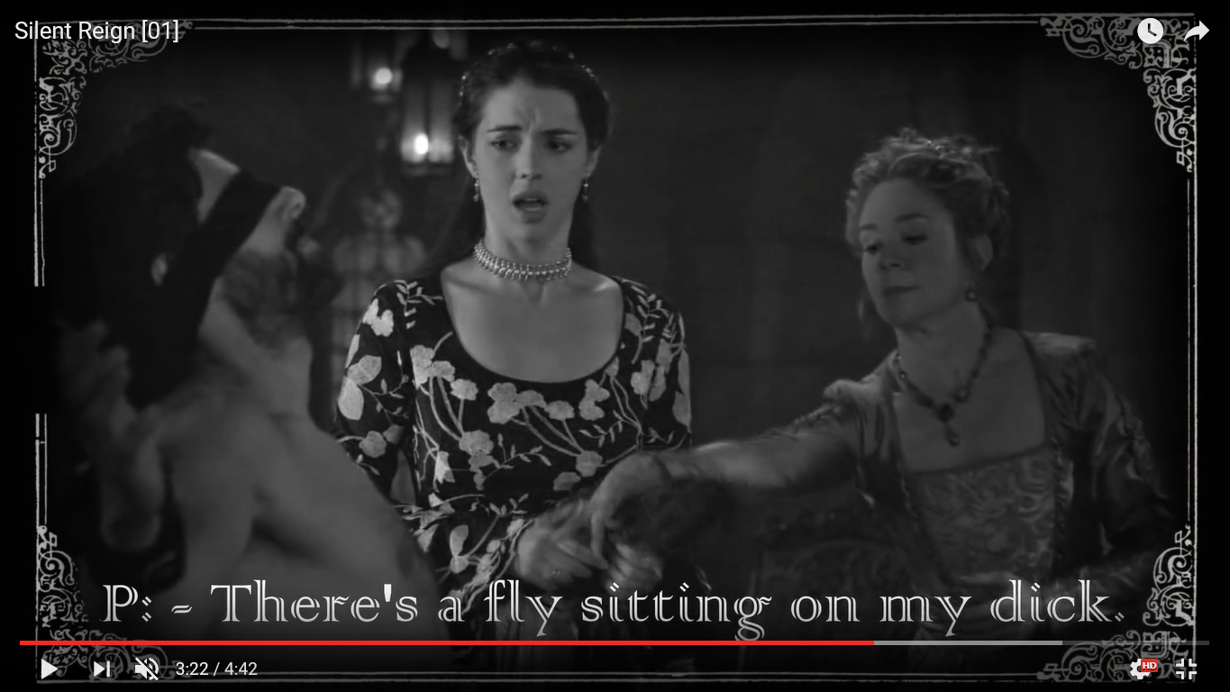 reign silent old film mary queen of scots