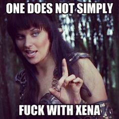 Xena Meme Fuck with