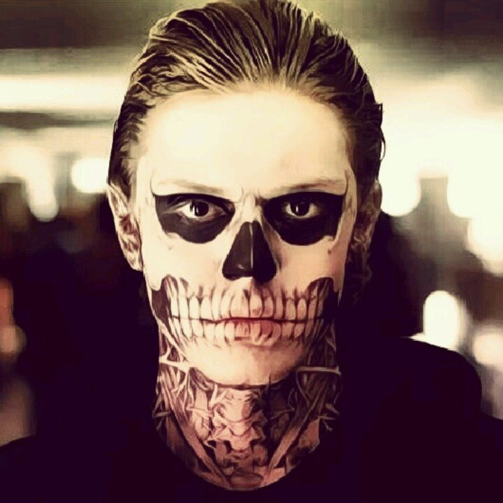 Evan Peters as Tate Langdon in AHS