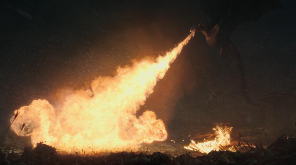 The Battle of Winterfell - Dracarys