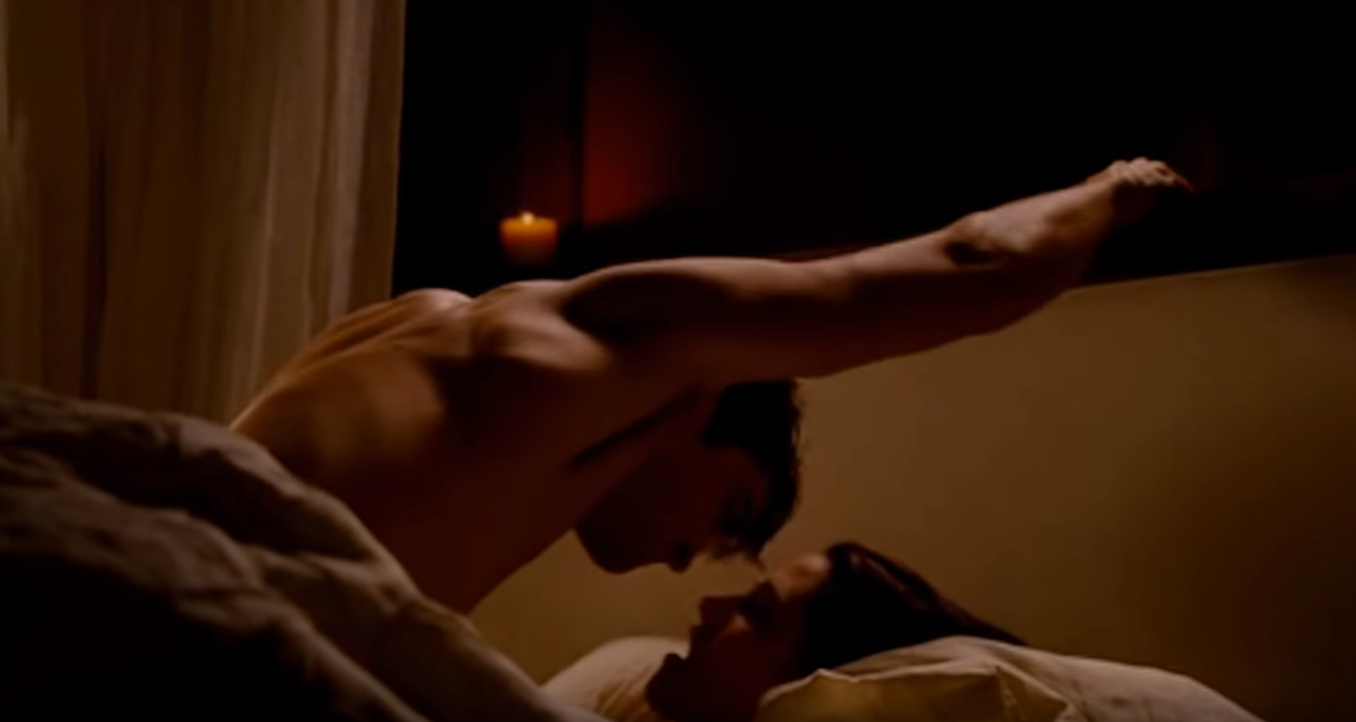 The Twilight Saga: Breaking Dawn. Bella and Edward Love Scene