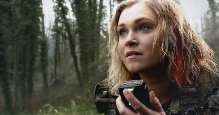 Clarke hoping to hear Lexa.