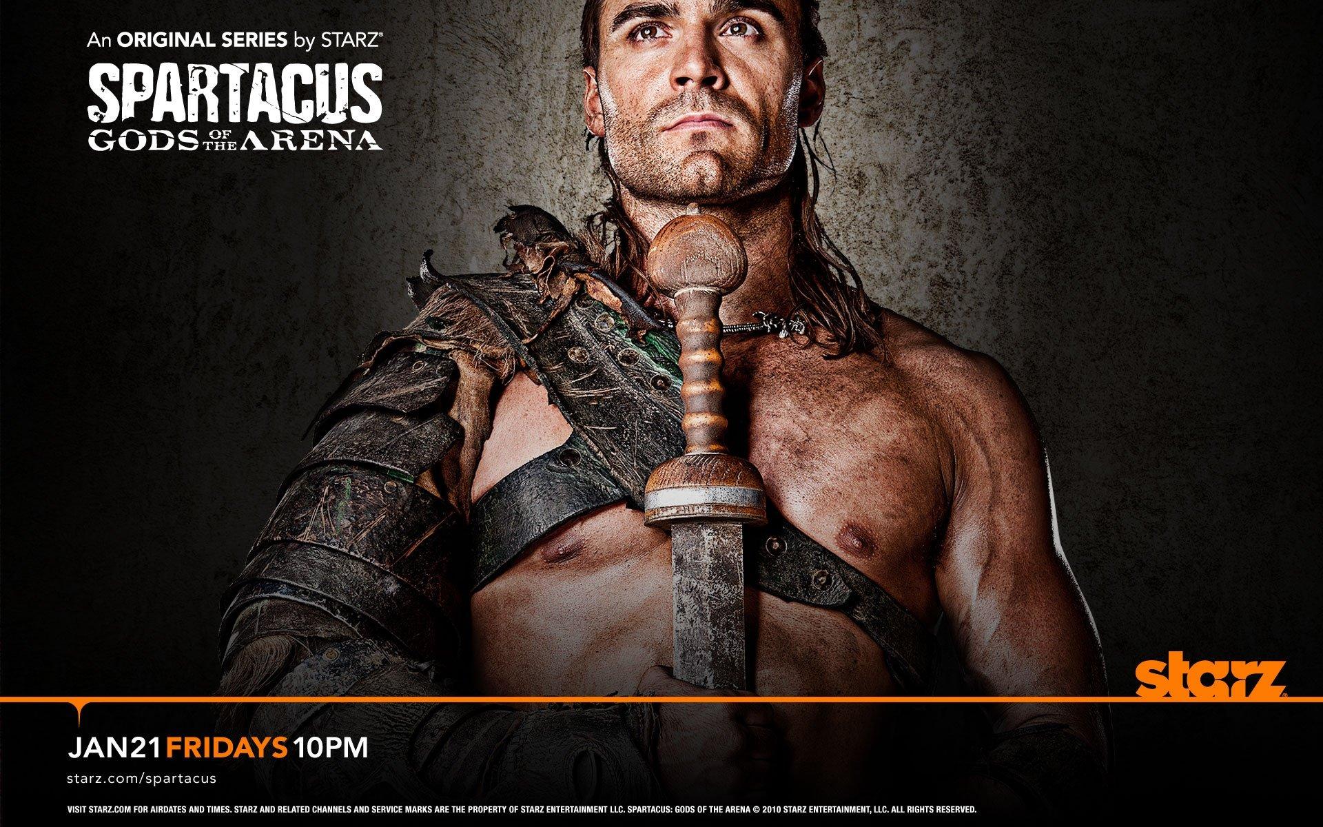 Spartacus: Gods of the Arena. Dustin Clare as Gannicus