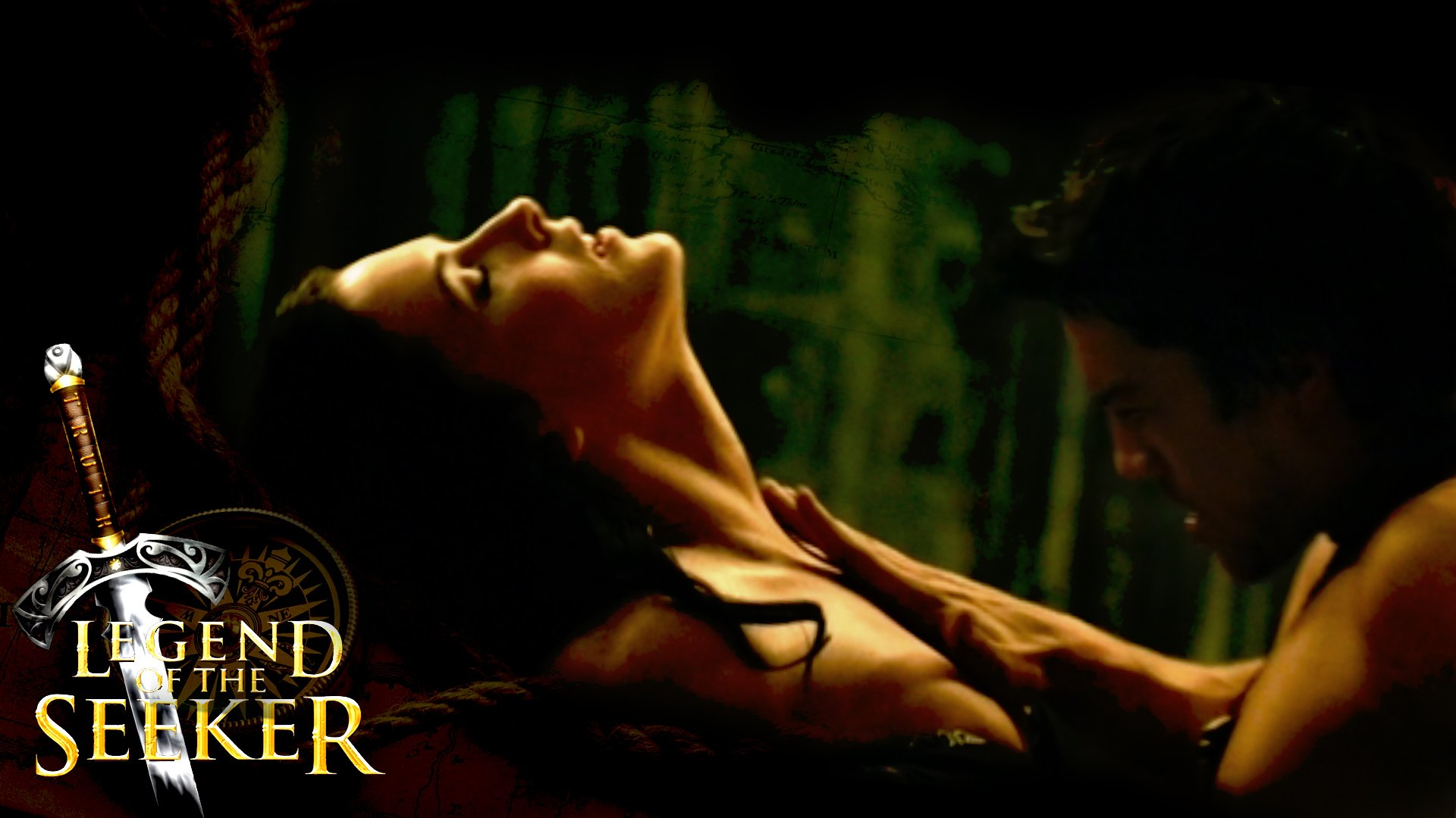 Legend of the seeker naked excited