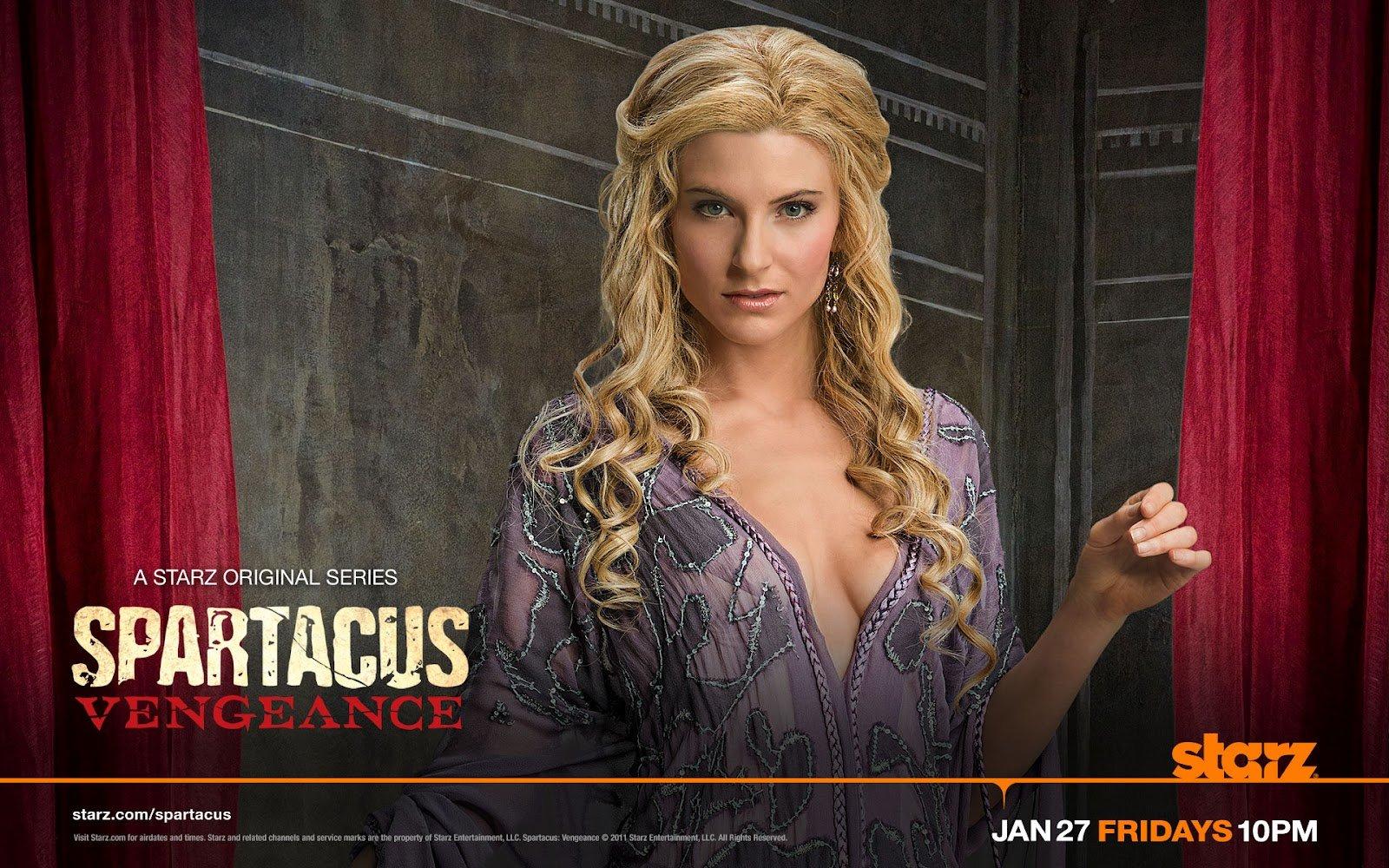 Spartacus: Vengeance. Viva Bianca as Ilithyia