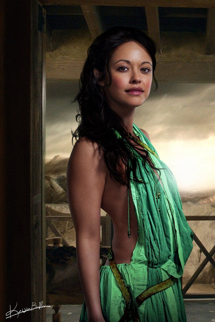 Spartacus: Gods of the Arena. Marisa Ramirez as Melitta