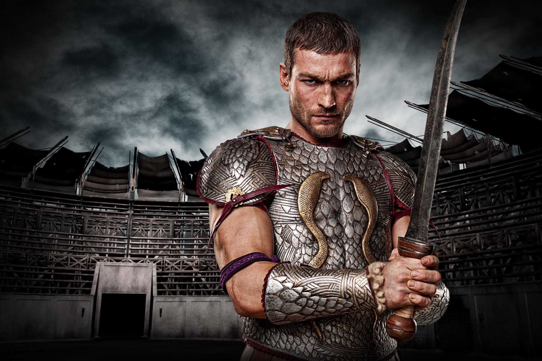 Spartacus: Blood and Sand. Andy Whitfield as Spartacus