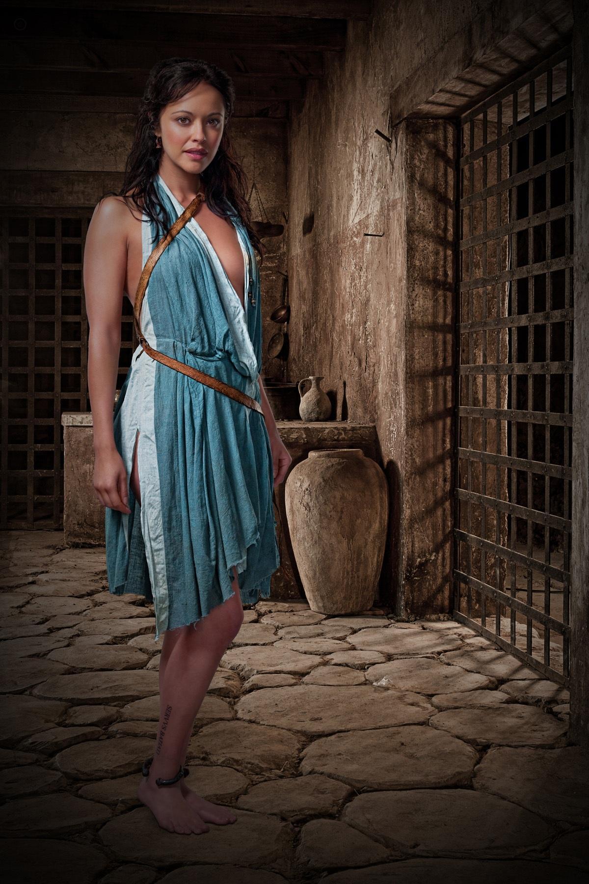 Spartacus: Gods of the Arena. Marisa Ramirez as Melitta