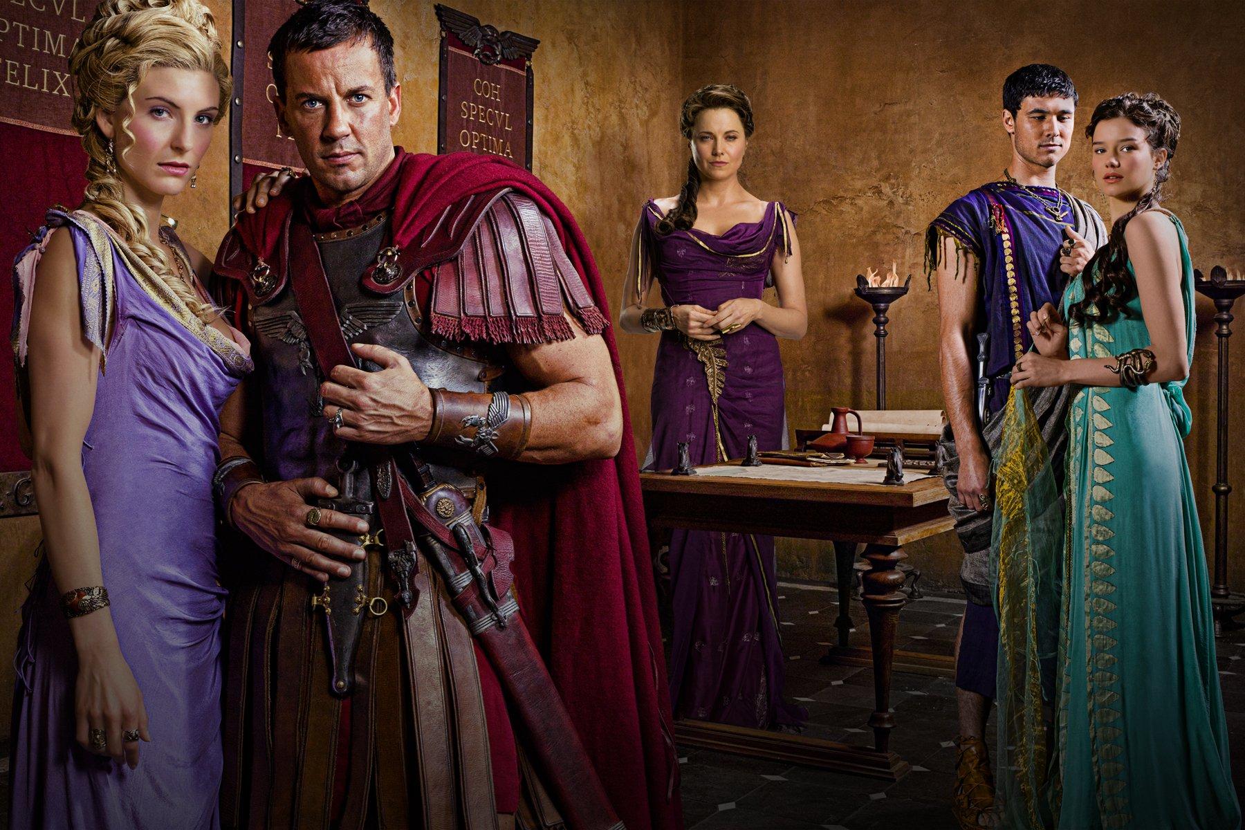 Spartacus Vengeance Cast