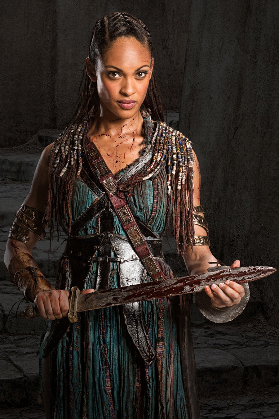 Spartacus: War of the Damned. Naevia.